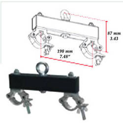 Milos Ceiling Support for M222 System