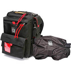 Porta Brace BK-1NRQS-M3 Backpack (Black with Red Trim)