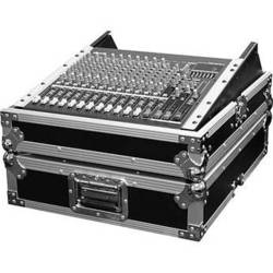 """Marathon MA-M19R 19"""" Mixing Console Case with 12 Spaces with Rackmount (Black)"""