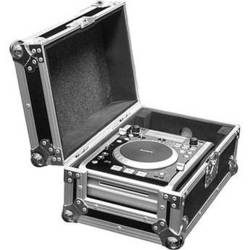 Marathon MA-CDI Flight Road, Single CDI Player Case (Black and Chrome)