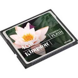 Kingston 4GB Compact Flash Memory Card