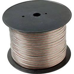 Steren 14-Gauge 2-Conductor Economy Speaker Wire, Clear - 1000' Spool