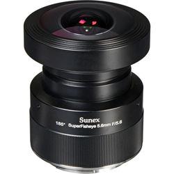 Sunex 5.6mm f/5.6 SuperFisheye Fixed Focus Lens for Canon Digital SLR