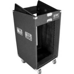 Odyssey Innovative Designs CXP1116W Carpeted Console Rack Case {Black}