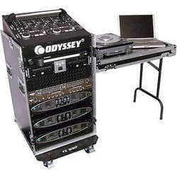 Odyssey Innovative Designs FZ1116WDLX Flight Zone ATA DLX Combo Rack Case