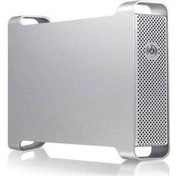 """Macally G-S350UN Ethernet and USB 2.0 External Drive Enclosure for 3.5"""" SATA Hard Drive"""