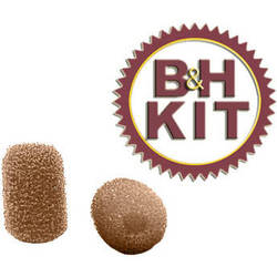 B&H Photo Video Backup Kit for E6 & E6i Microphones (Beige)