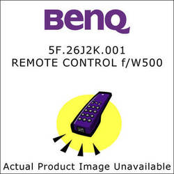 BenQ 5F.26J2K.001  Replacement Remote Control for the BenQ W500 Projector