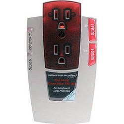 Monster Cable Pro 200 PowerCenter with Clean Power Stage 1 & Surge Protection