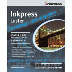"Inkpress Media Luster Paper (13 x 19"", 100 Sheets)"