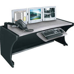 """Middle Atlantic 64"""" LCD Monitoring & Command Desk (Pepperstone)"""
