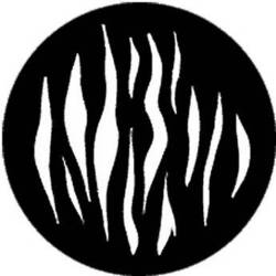 Rosco Standard Steel Gobo #78130A Ripple - Large (A = Size 100mm)