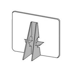 """Lineco Double-Wing Easel Back (36"""", Gray, 25-Pack)"""