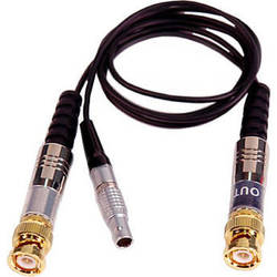 Remote Audio CATCIOBNC LEMO to In/Out BNC-Male Timecode Cable (3')