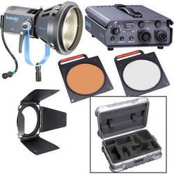 Bron Kobold DW200 Open Face HMI AC Kit with Flight Case (90-265VAC)