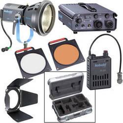Bron Kobold DW200 Open Face HMI AC/DC Kit with Flight Case (90-265VAC/26-34VDC)