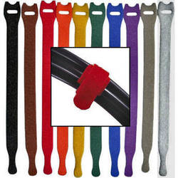 "Rip-Tie Lite 1/2 x 6"" Light-duty Strap (Pack of 10) (Rainbow)"