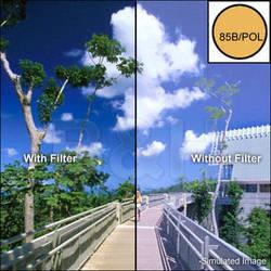 "Tiffen 4 x 4"" 85B Linear Polarizer Filter"