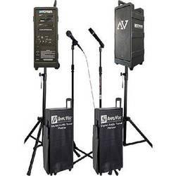 AmpliVox Sound Systems B9154-HHx2 Premium Digital Audio Travel Partner PA Package