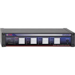 RDL HR-DSX4 - 4 Input 1 Output Digital Audio Selector