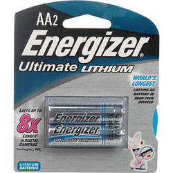 Energizer Ultimate Lithium AA Batteries (2-Pack)