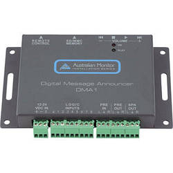 Australian Monitor DMA1 Compact Digital Message Announcer