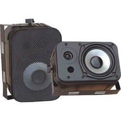 """Pyle Pro PDWR40B 5.25"""" Indoor-Outdoor Waterproof Speakers (Black)"""