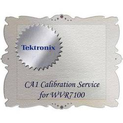 Tektronix CA1 Calibration Service for WVR7100