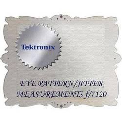 Tektronix EYE Option for WVR7120
