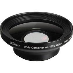 Nikon WC-E76 0.76x Wide-Angle Converter Lens for Nikon Coolpix P6000 Camera