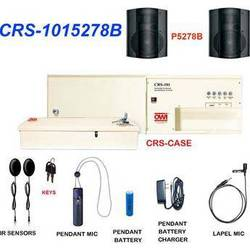 OWI Inc. CRS-1015278B  Infrared Wireless Microphone & Speaker Package (Black)