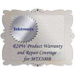 Tektronix R2PW Product Warranty and Repair Coverage for MTX100B