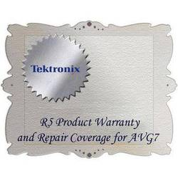 Tektronix R5 Product Warranty and Repair Coverage for AVG7