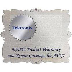 Tektronix R5DW Product Warranty and Repair Coverage for AVG7