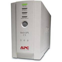 APC Back-UPS CS 500 6-Outlet Backup and Surge Protector, Beige (120v)