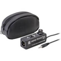 DSAN Corp. LSP-1 Laptop SoundPort 3.5mm Stereo Mini Male to 3-Pin XLR Male In-Line Adapter