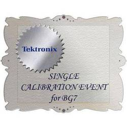 Tektronix CA1 Calibration Service for BG7