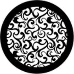 Rosco Standard Steel Gobo #78402B Dream Grill (B = Size 86mm)