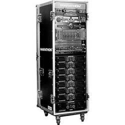 Marathon MA-33UADW Flight Road 33U Deluxe Amplifier Rack Case (Black)
