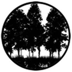 Rosco Standard Steel Gobo #78432B Tree Silhouette 2 (B = Size 86mm)