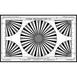 DSC Labs MegaTrumpet 12 Standard Resolution & Focus Chart