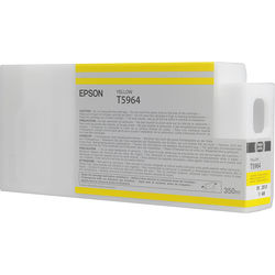 Epson T596400 Yellow UltraChrome HDR Ink Cartridge (350 mL)