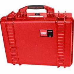 HPRC 2500F HPRC Hard Case with Cubed Foam Interior (Red)