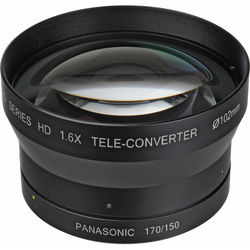 Century Precision Optics 1.6x HD Telephoto Conversion Lens for Panasonic AG-HPX170/AG-HMC150