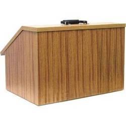 AmpliVox Sound Systems EZ Speak Folding Lectern (Medium Oak)