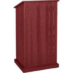 AmpliVox Sound Systems Chancellor Lectern without Sound (Mahogany)