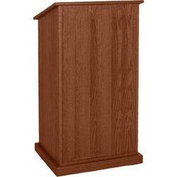 AmpliVox Sound Systems Chancellor Lectern without Sound (Walnut)