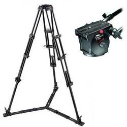Manfrotto 516,545GBK Professional Video Tripod System with 516 Head (Black)