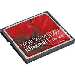 Kingston 16GB CompactFlash Ultimate 266x Memory Card