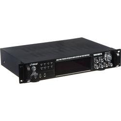 Pyle Pro PT720A 1000W Peak Hybrid Amplifier with AM/FM Tuner